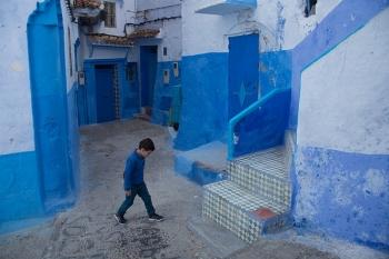 & Blue